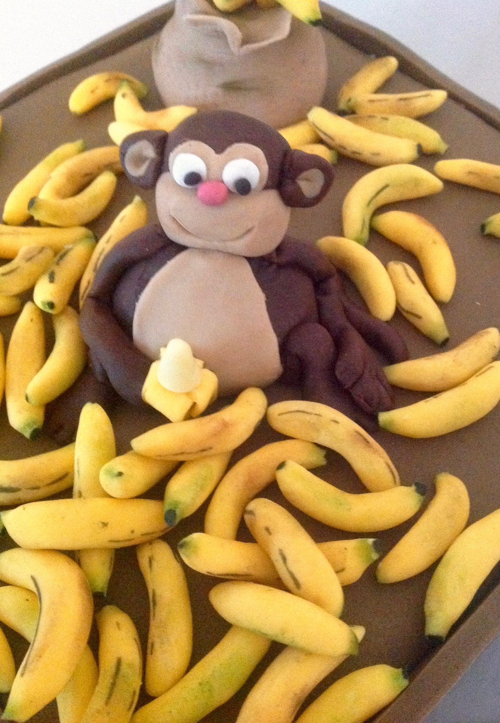 Monkey Business Birthday Cake