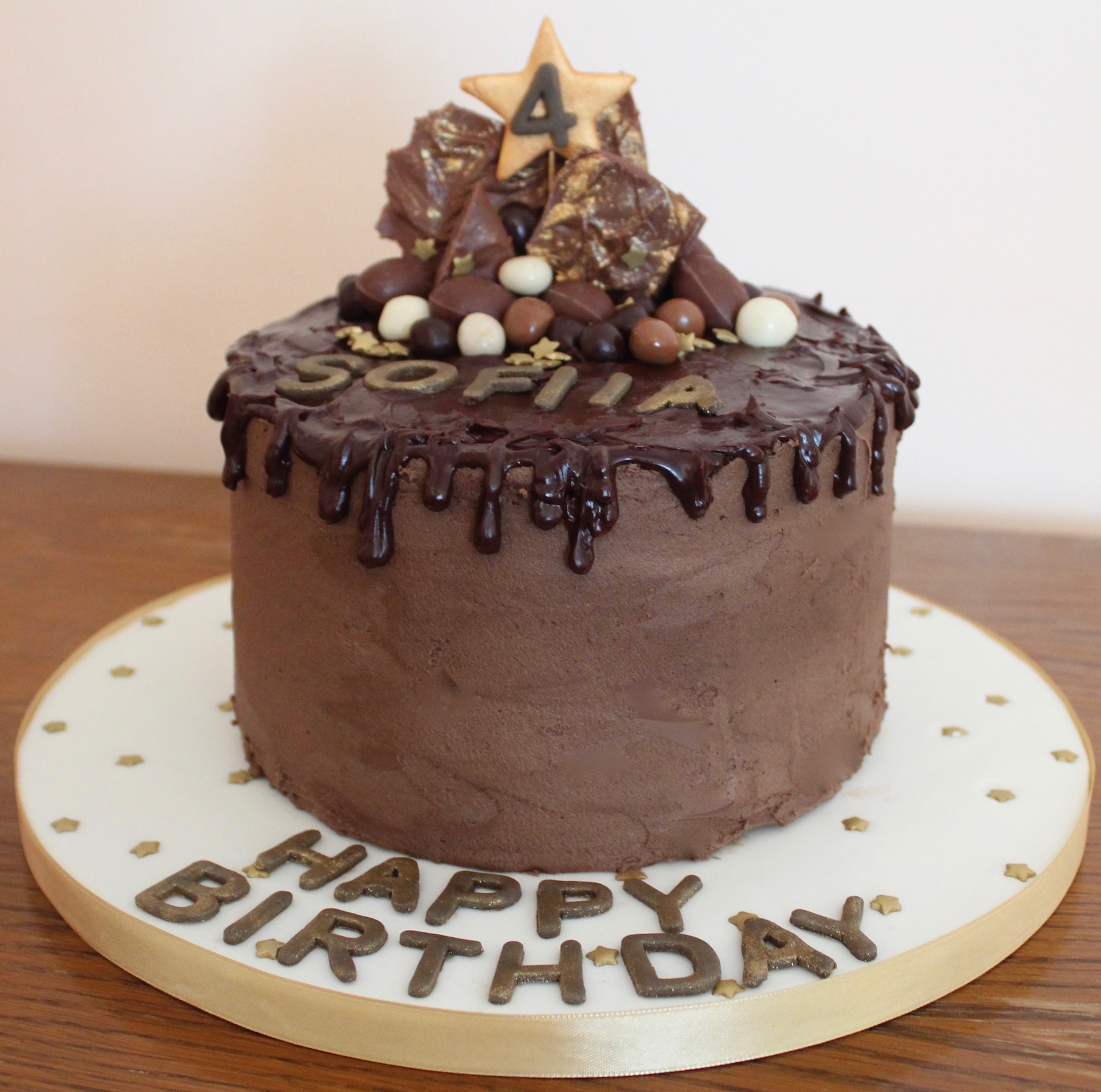Indulgent Chocolate Drip Cake