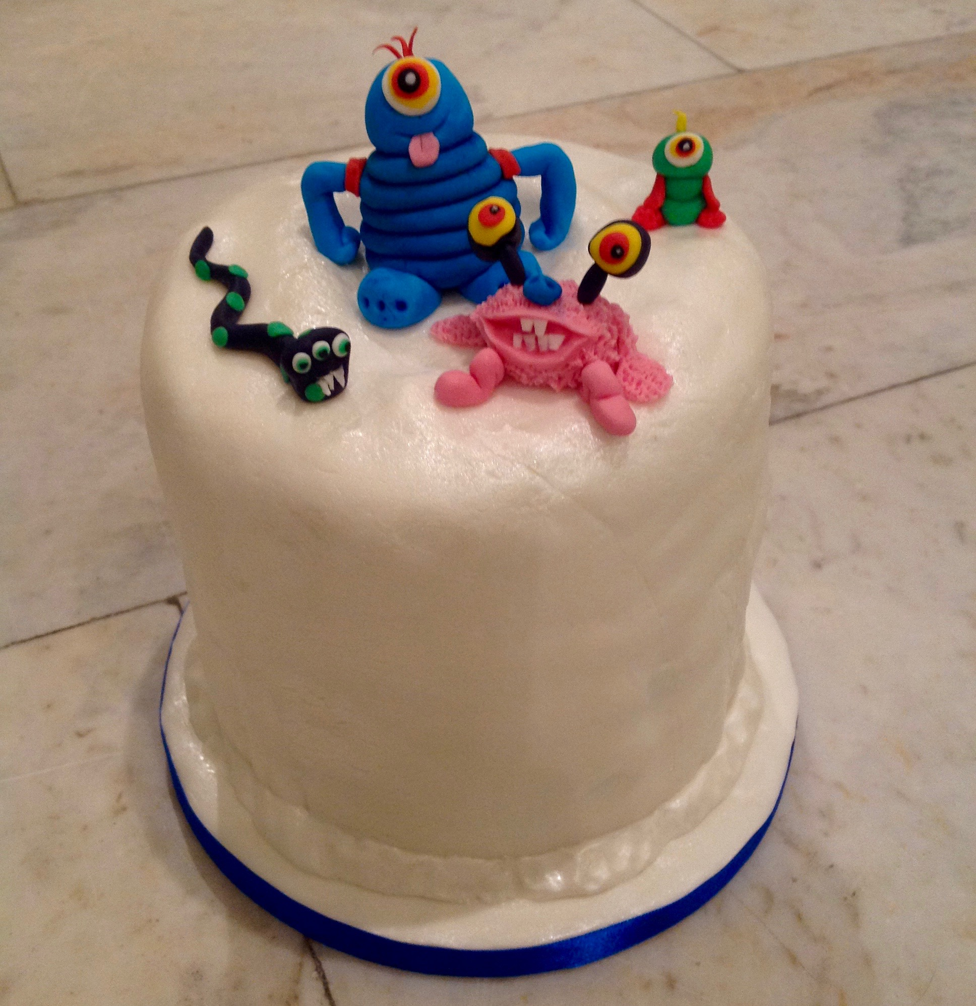 Alien Monster Birthday Cake
