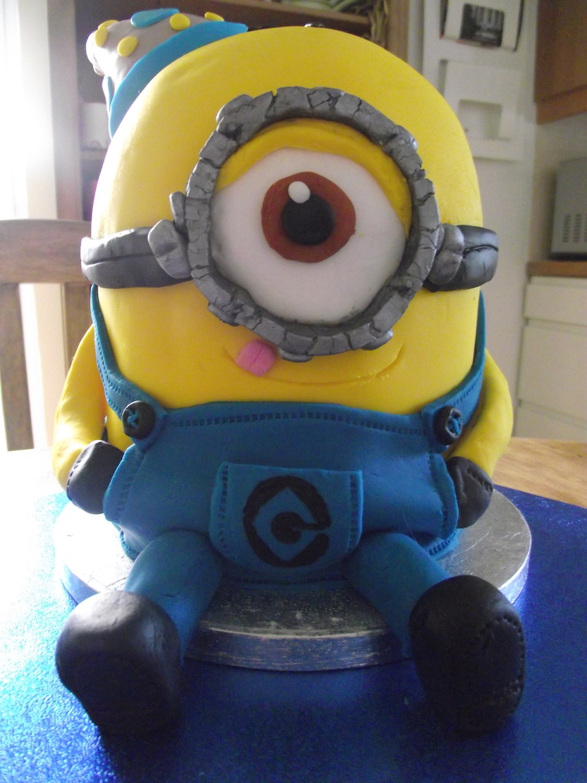 Minion 30th Birthday Cake